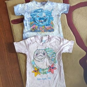 Other - Bundle boys sea themed tees with open mouth